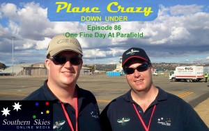 Bas & Steve on the ramp at Parafield