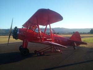 Lilly Warra, Southern Biplane's Boeing Stearman