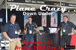 Steve & Grant with Matt Hall at Avalon 2013