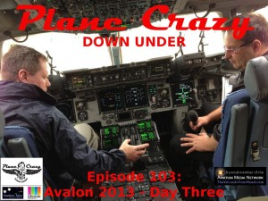 Grant & Steve are sorting out the RAAF C-17 flight deck