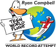Ryan Campbell's Teen World Flight Logo