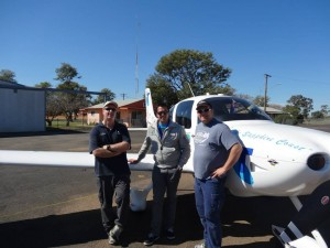 Steve & Grant with Ryan Campbell at AusFly 2013