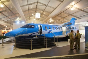 The Pilatus PC24 Mock Up