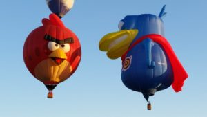 Angry Birds with the Dodo balloon