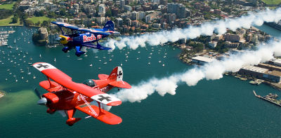 Pitts Specials in Formation